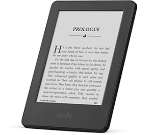 The new Amazon Kindle.
