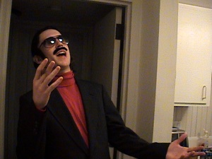 I did go as Will Ferrell as Robert Goulet the next year, though.