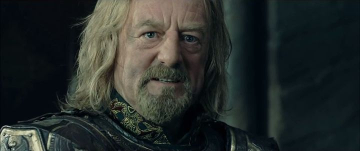 Shouldn't Théoden Be Sadder?