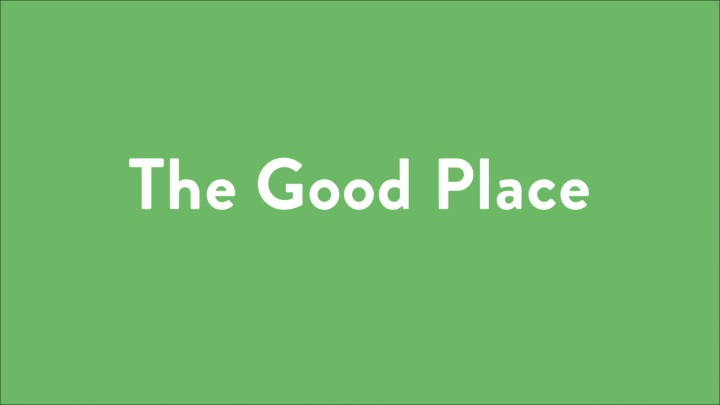 The Perfect Simplicity of The Good Place